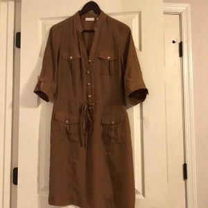 New York and Company button down dress